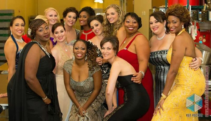 Image: A total of 20 finalists competed in the Ms. Veteran America pageant in Leesburg, Va., on Oct. 13.