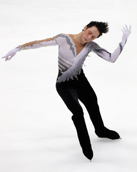 Weir performs in the Men's Free Skate on day one of the ISU Grand Prix of Figure Skating on November 7, 2009 in Nagano, Japan.
