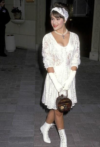 Alyssa Milano in the 1990s.