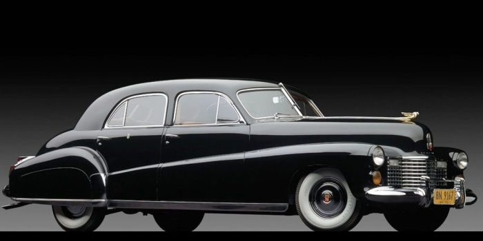 "In this photo provided by Sotheby's, Wednesday, Oct. 23, 2013 in New York, is a 1941 Cadillac owned by the Duke and Duchess of Windsor. Dubbed ""The Du..."