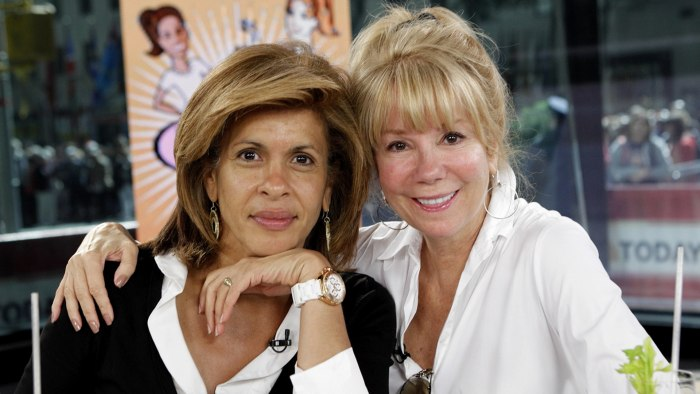 Kathie Lee and Hoda went makeup-free on the air in 2010.