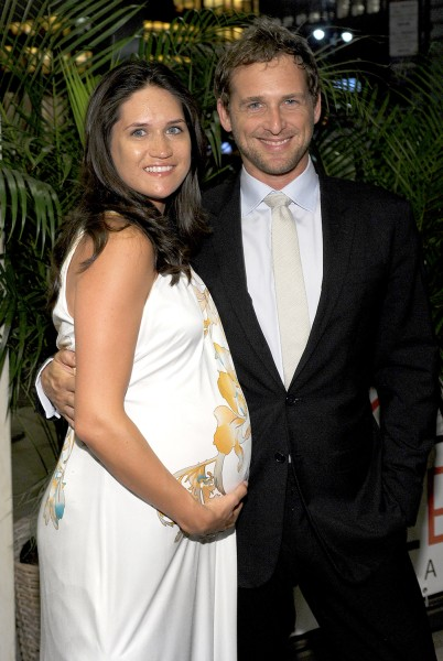 Josh Lucas and his wife, Jessica Ciencin Henriquez, in June, 2012.