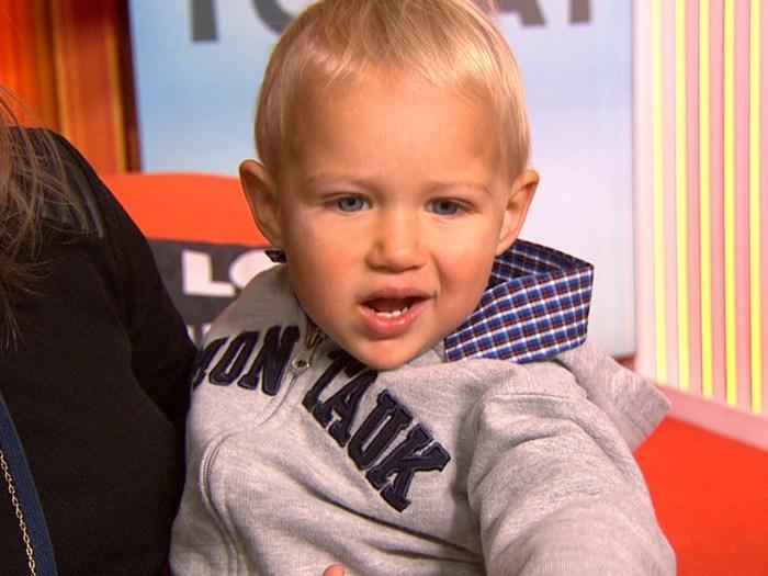 Josh Lucas' son Noah.