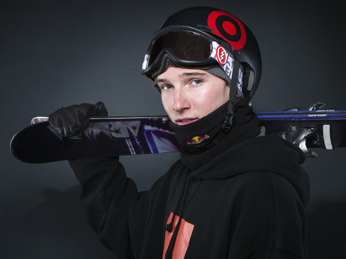 Olympic freestyle skier Torin Yater-Wallace poses for a portrait during the 2013 U.S. Olympic Team Media Summit in Park City, Utah October 1, 2013. RE...
