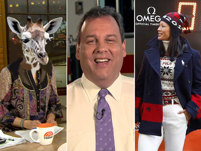Natalie gets the riddle wrong, Christie talks Sandy recovery and U.S. Olympians debut their new uniforms.