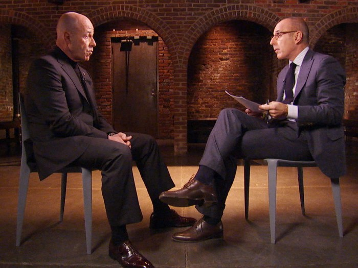 Bernard Kerik sits down with Matt Lauer.