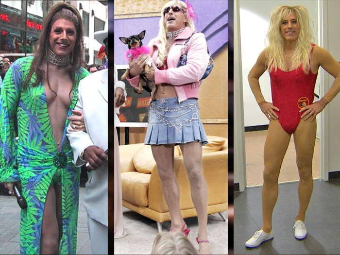 What A Drag Matt Lauer Plays His 3rd Female Icon For