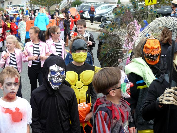 Image: Halloween parade