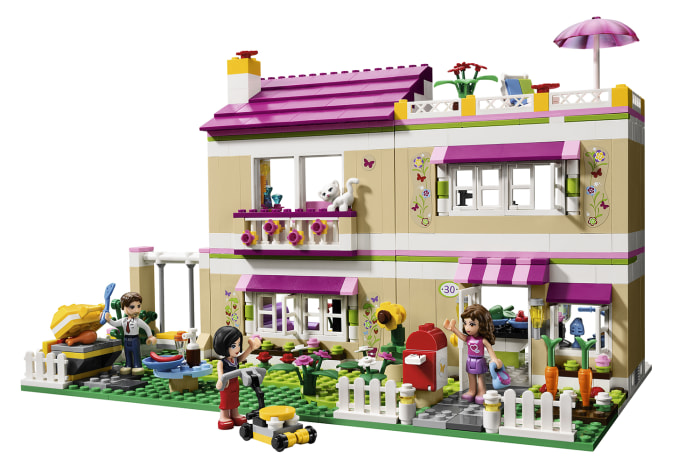 "Image: LEGO's ""Olivia's House"" construction set"
