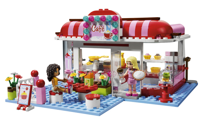 Image: LEGO's City Park Cafe construction set
