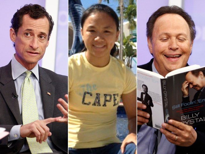 "What you missed TODAY: Weiner talks election, parents pass off their adopted children, Billy Crystal dishes on ""I'll have what she's having."""