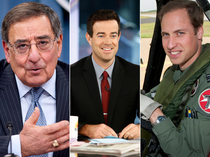 Leon Panetta discusses Syria, Carson joins the TODAY family and William leaves the British armed forces.