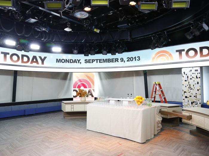 Orange Room Thursday, Sept. 12, 2013, in New York, NY (Rebecca Davis / TODAY)