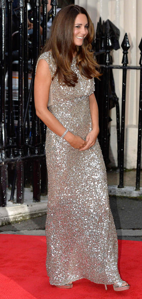 Britain's Catherine, Duchess of Cambridge, arrives to attend the Tusk Conservation Awards at The Royal Society in London, September 12, 2013. REUTERS/...