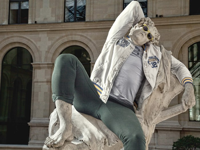 Artist dresses classic statues in hipster clothing - TODAY.com