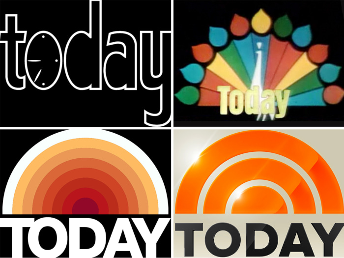 A look back at the logo's evolution since TODAY debuted in 1952.