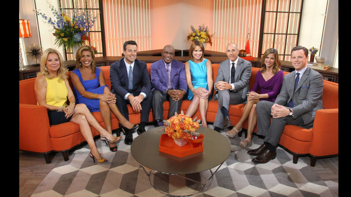 "TODAY -- ""Unveiling Studio 1A"" 09/12/13 -- Pictured: -- (Photo by: Paul Morigi/NBC)"