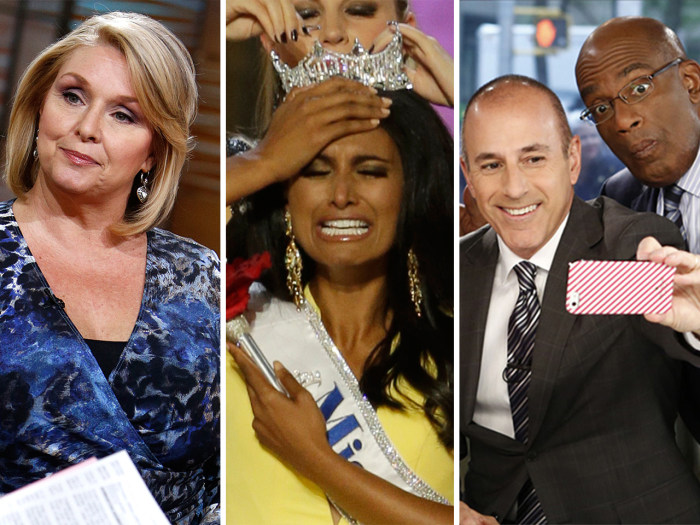 "Samantha Geimer hopes Polanski is ""well,"" Miss America responds to racist tweets and the anchors pose for selfies."