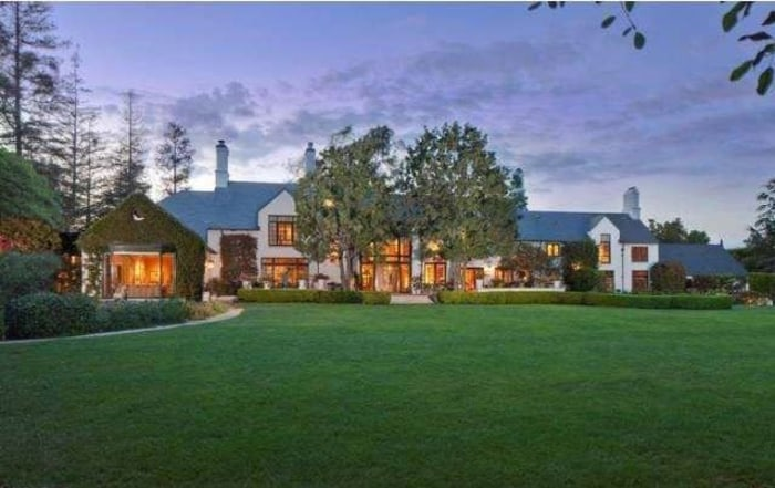 This French chateau-style home was the residence of Hollywood legend Gregory Peck's wife, Veronique, who died in 2012.