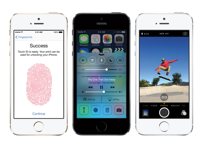 iPhone 5S promo