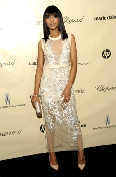 "The world's best dressed woman, according to People magazine? ""Scandal"" star, Kerry Washington."