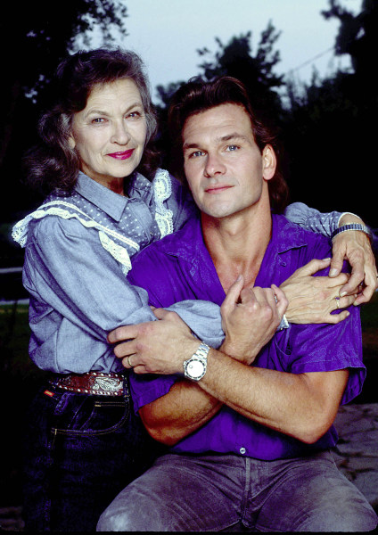 Patrick Swayze's mother, who taught him to dance, dies at ...