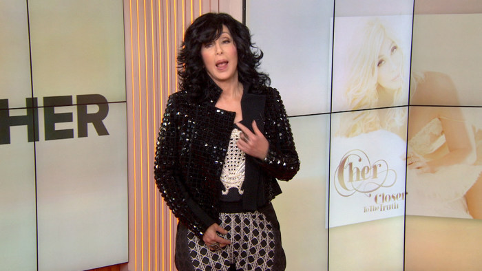 Cher revealed some of her underwear secrets on Monday.
