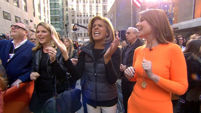 Hoda got her groove on to Cher on Monday.