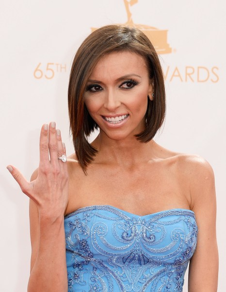 65th Annual Primetime Emmy Awards - Best Of LOS ANGELES, CA - SEPTEMBER 22:  TV personality Giuliana Rancic arrives at the 65th Annual Primetime Emmy ...