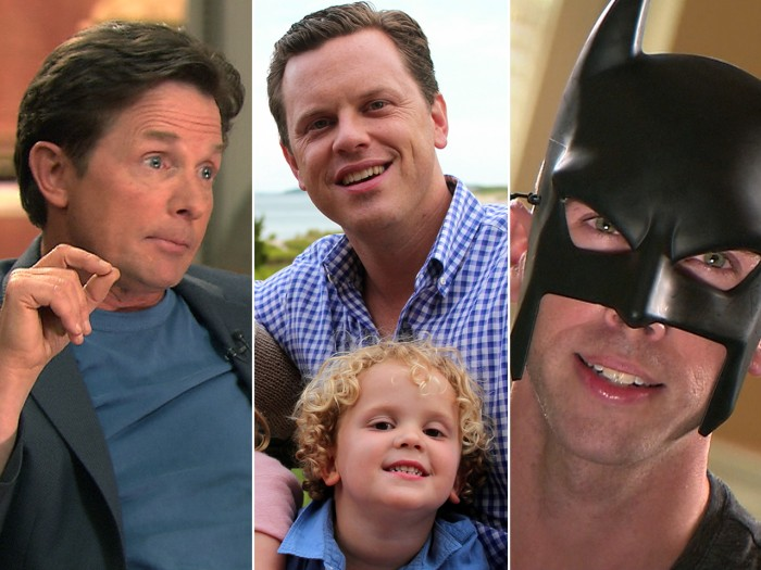 Michael J. Fox talks about his new show, Willie shares parenting tips and BatDad shows us how discipline is done.