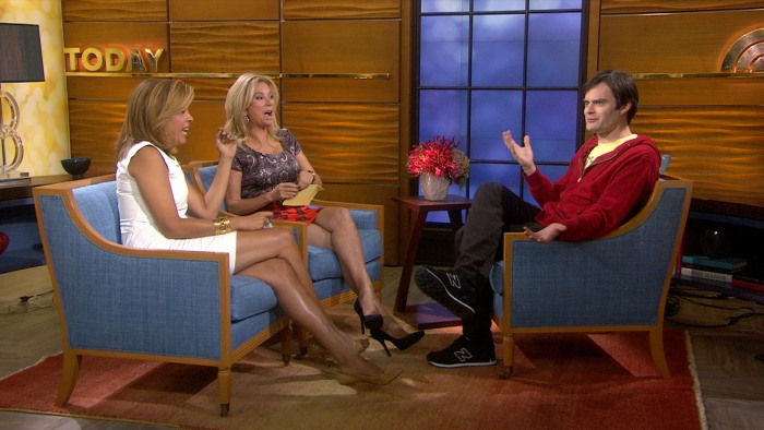 Kathie Lee and Hoda chatted with the comedian on Wednesday.