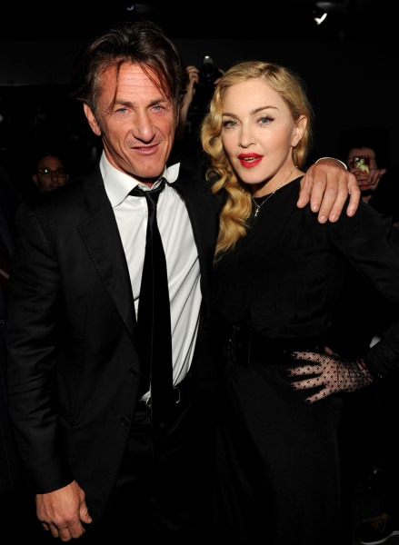 Image: Sean Penn and Madonna