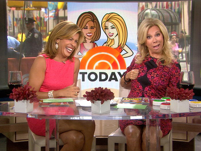 Kathie Lee and Hoda talked 'nips' on Thursday.