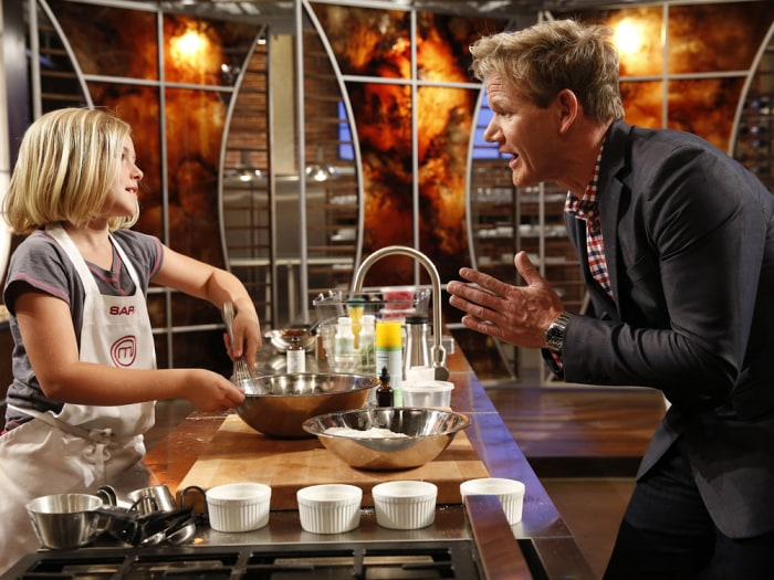 Sarah From Masterchef Junior On Hell S Kitchen