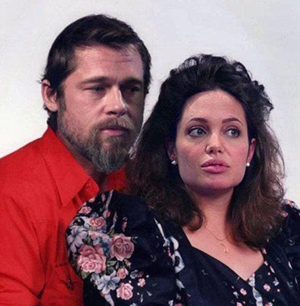 Brad and Angelina.