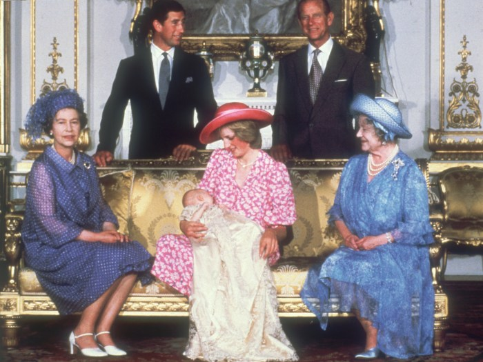 (FILE PHOTO) St James's Palace has announced that Prince William and Catherine Duchess Of Cambridge are expecting a baby 4th August 1982:  Diana, Prin...