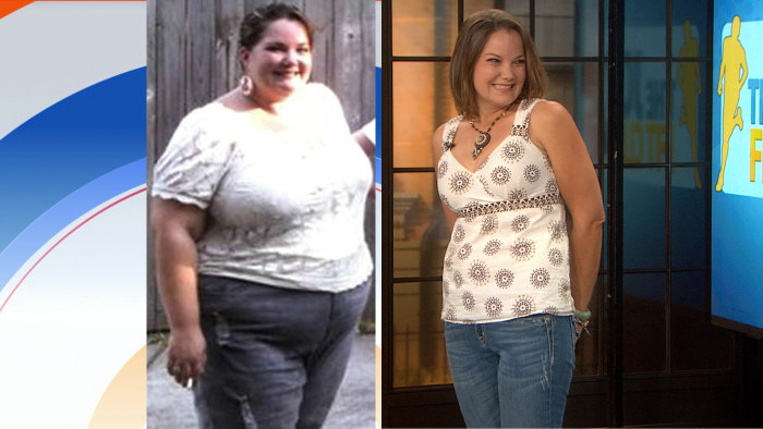 Leigh Mount talked about her transformation on Monday.