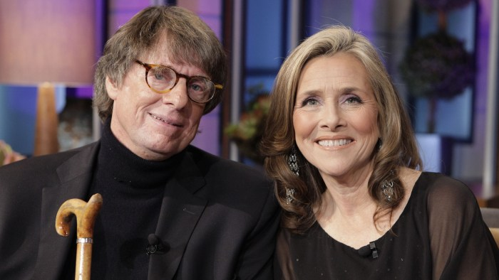 Richard Cohen and Meredith Vieira pictured together in Nov. 2012.