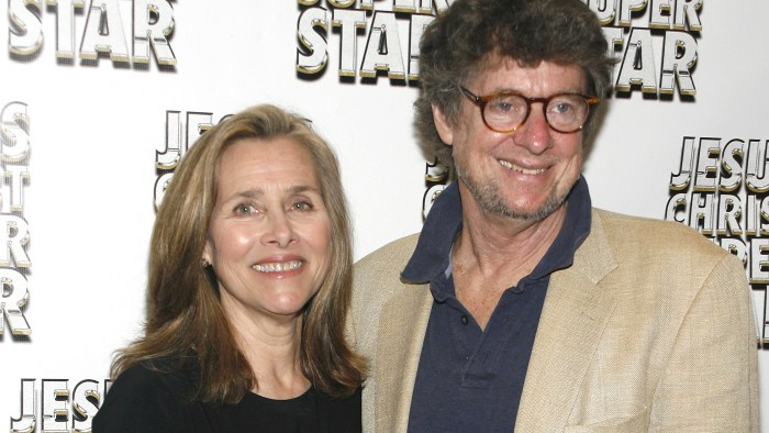 "Meredith Vieira, Richard Cohen== Opening Night of ""Jesus Christ Super Star"", Arrivals== Neil Simon Theatre, NYC== March 22, 2012== ©PatrickMcmullan.c..."