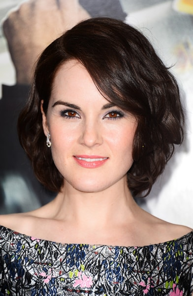 hairstyles that look good on everyone: spring hair for Michelle Dockery