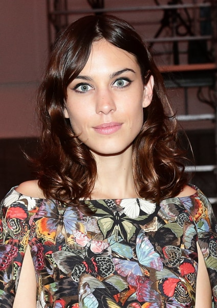 Best hairstyles for spring: alexa chung