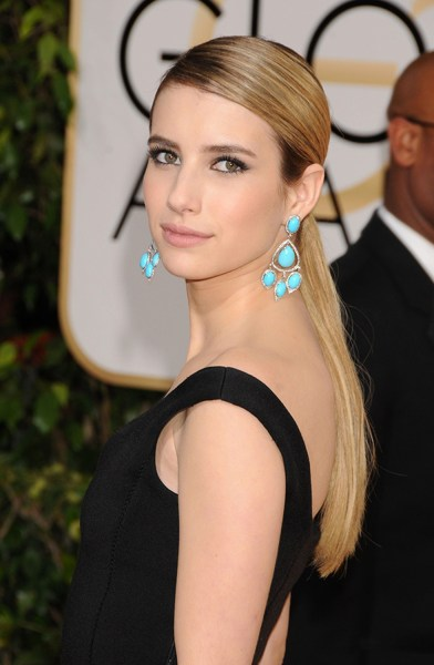 hairstyles that look good on everyone: spring hair for Emma Roberts