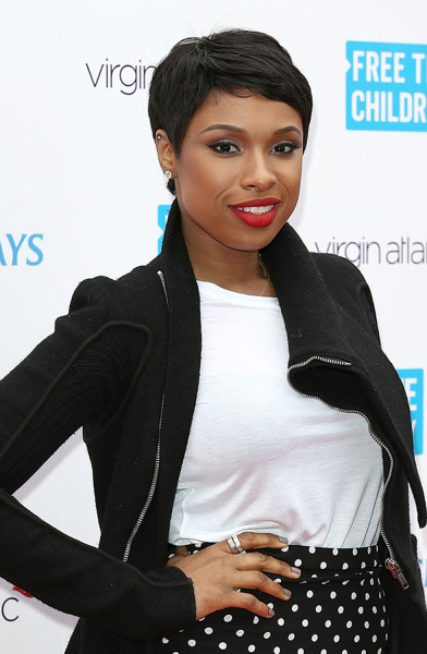 hairstyles that look good on everyone: spring hair for Jennifer Hudson