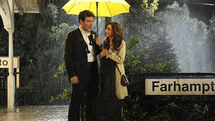 "IMAGE; Josh Radnor as Ted and Cristin Milioti as Tracy in the ""How I Met Your Mother"" series finale."