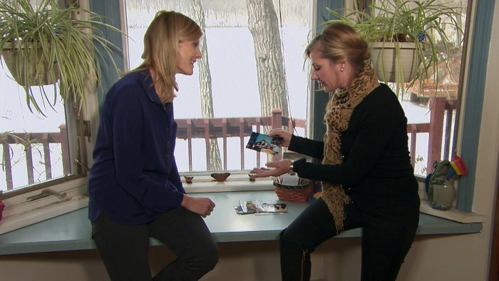 Michelle talks with NBC's Kate Snow.