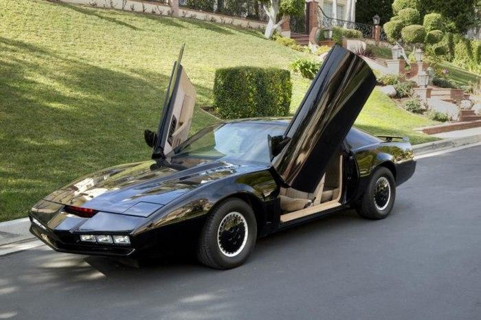 Image: David Hasselhoff's car