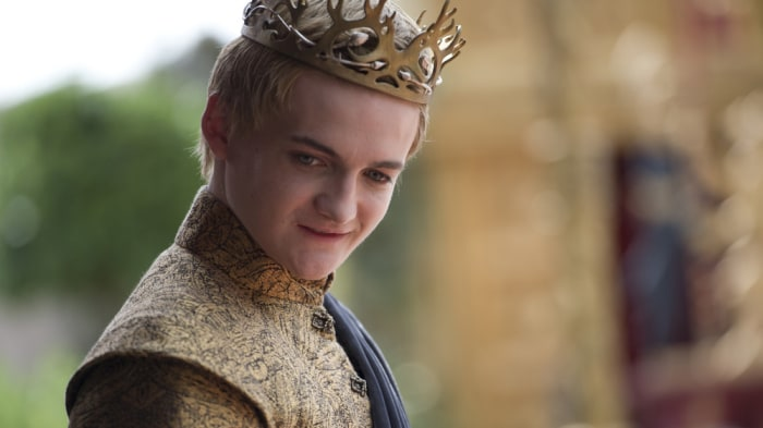 "IMAGE: Joffrey on ""Game of Thrones"""