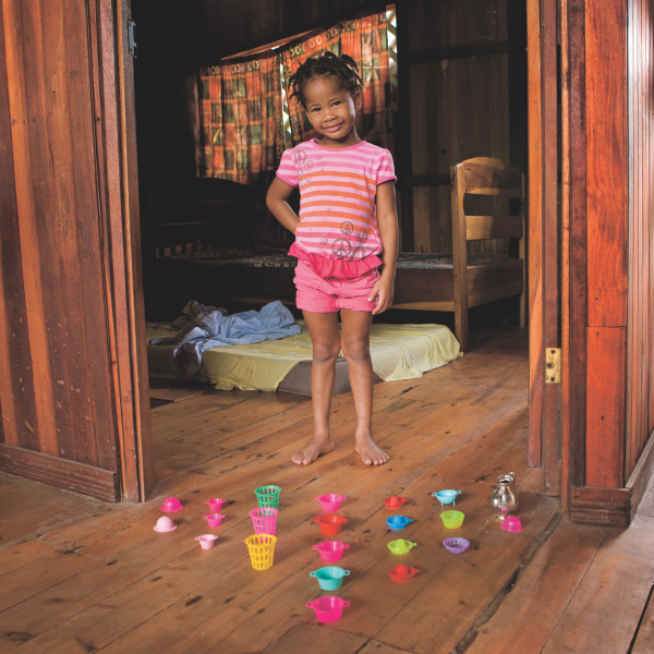 Naya Gutierrez, 3 anni -  Managua, Nicaragua