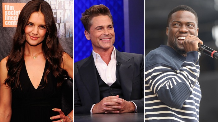 Katie Holmes, Rob Lowe and Kevin Hart are all vying for new TV shows next fall.