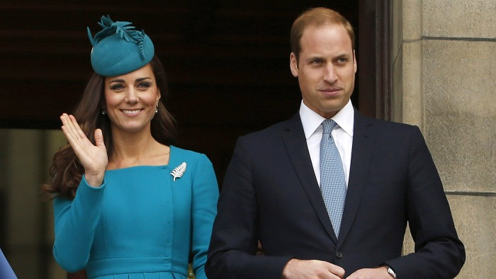 The Duke and Duchess attended a Palm Sunday service on Sunday at  at St. Paul's Anglican Cathedral in Dunedin, New Zealand.